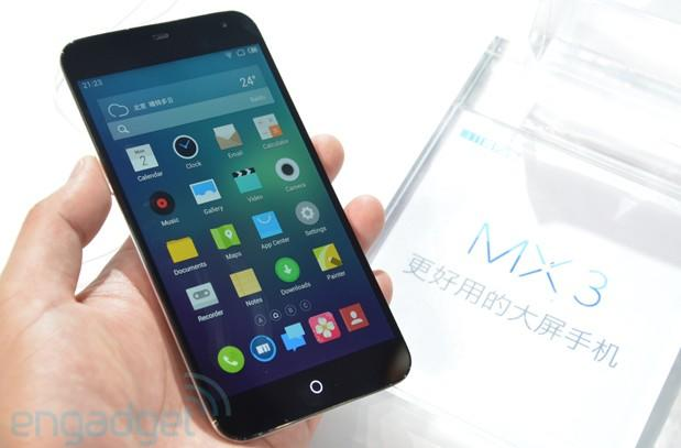 Meizu MX3 hands-on: a significant improvement from the MX2 (video)