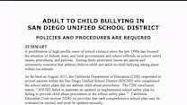 Grand Jury: Schools Need Adult Bully Policy