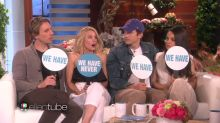 Ashton Kutcher and Dax Shepard Surprise Wives Mila Kunis and Kristen Bell, Play 'Never Have We Ever'