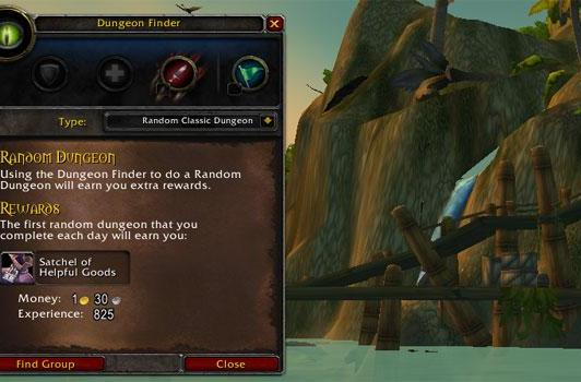 How to level up using the Dungeon Finder
