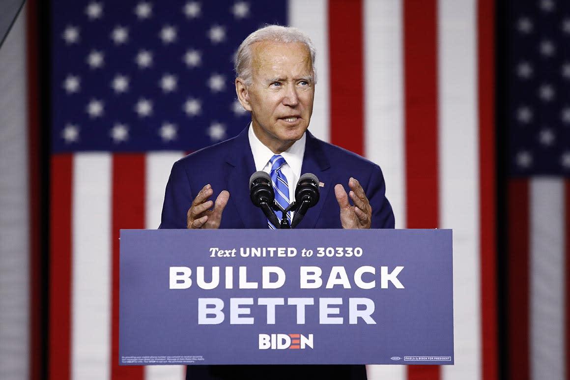 Biden cuts deep into Trump's 2020 cash advantage