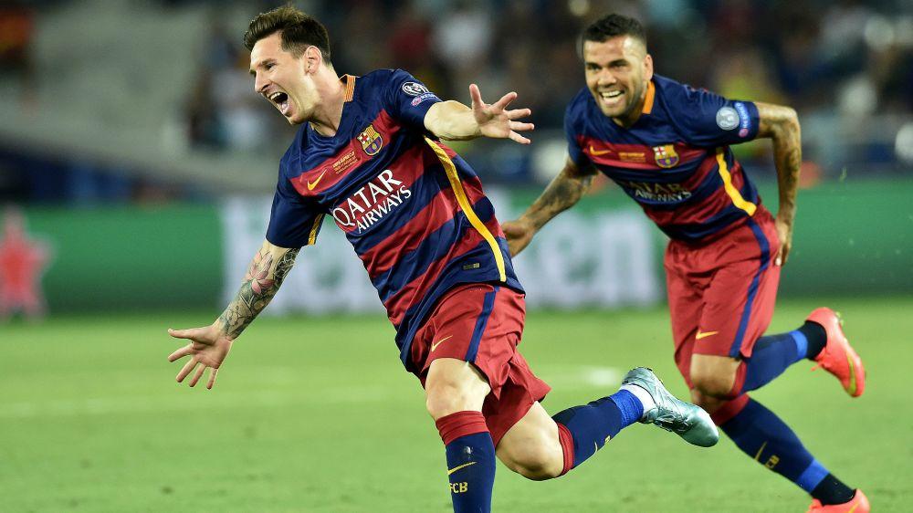 "Dani Alves: ""Si de mi dependiera, Messi tendría una estatua"""