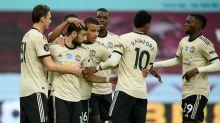 Manchester United boost Champions League bid with comfortable Aston Villa win