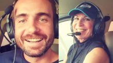"""Max Fercondini registra voo com mãe pilotando: """"Me orgulha demais"""""""