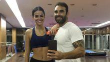 Bruna Marquezine treina pesado após a Páscoa e personal entrega: 'Todo treino ela chega meio brava'