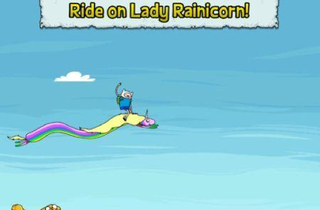 Daily iPhone App: Jumping Finn Turbo provides an addictive cycle with the Adventure Time crew