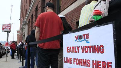 Early voter: Election determines our trajectory