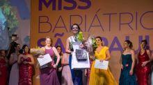 Após perder 48 quilos, secretária se torna Miss Bariátrica