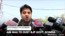 Aim Was To Oust BJP Government Says Jyotiraditya Scindia