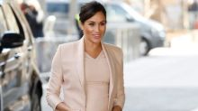 Meghan Markle goes back to her acting roots as she visits National Theatre for first time as patron