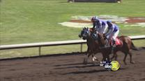 Horse racing at The Big Fresno Fair