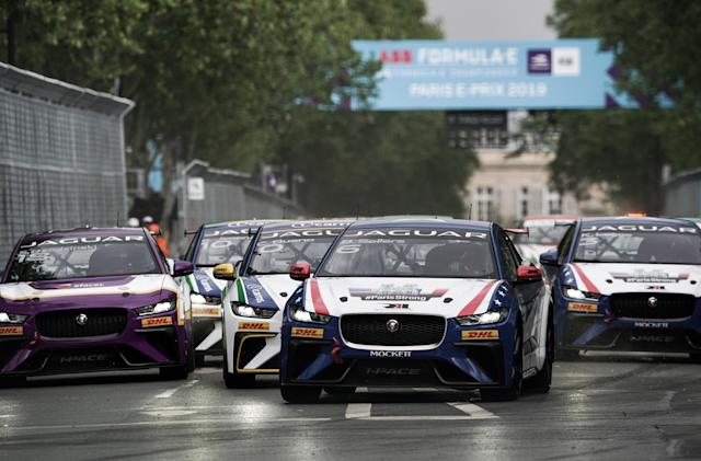 Jaguar ends I-Pace electric race series due to COVID-19