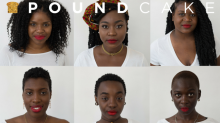 This red lipstick line was made especially for dark-skinned women