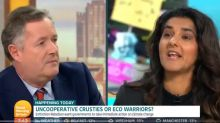 Piers Morgan accuses Extinction Rebellion founder of hypocrisy, raging 'practise what you preach'