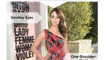 Look des Tages: Emmy Rossum im One-Shoulder-Kleid