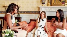 Watch Kerry Washington, Sarah Jessica Parker & Michelle Obama Meet at The White House