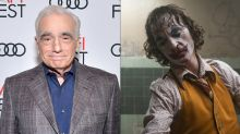 Martin Scorsese hasn't seen 'Joker': 'I saw clips of it'