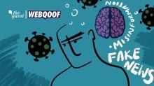False Memory & COVID-19: How Misinformation Tricks Your Brain