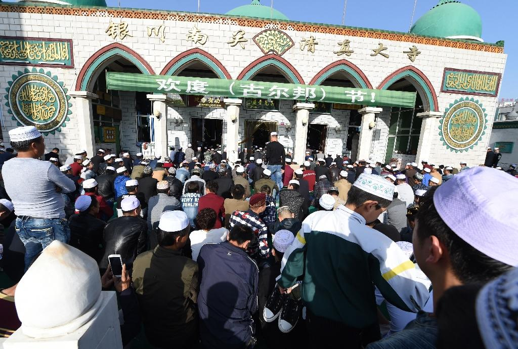 China officially has more than 23 million Muslims (AFP Photo/Goh Chai Hin)
