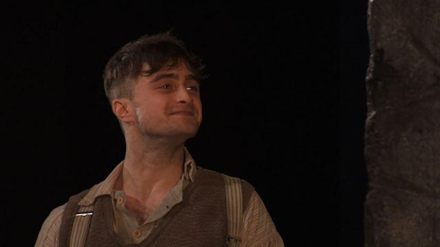 Daniel Radcliffe on Laughter, Applause and Broadway