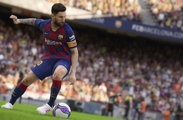 Konami scales back 'PES 2021' to focus on its next-gen engine