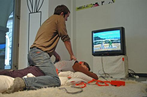 Massage Me turns (legitimate) massages into gameplay