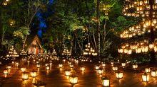 浪漫教堂燭光夜 輕井澤避暑夏夜很夢幻