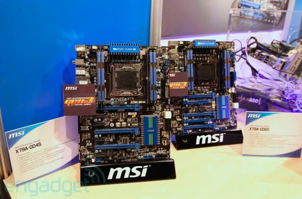MSI demos X79 motherboards with PCI Express 3.0 and UEFI BIOS at IDF 2011 (video)