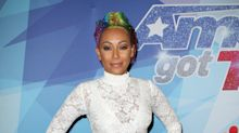 Mel B tries to top herself with totally see-through jumpsuit