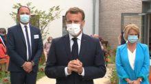 """Macron annonce qu'une loi sur le grand âge sera bâtie """"dans les prochains mois"""""""