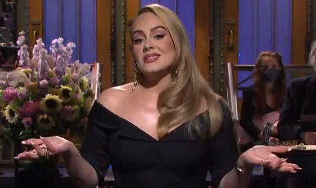 Adele jokes about weight loss as she hosts Saturday Night Live