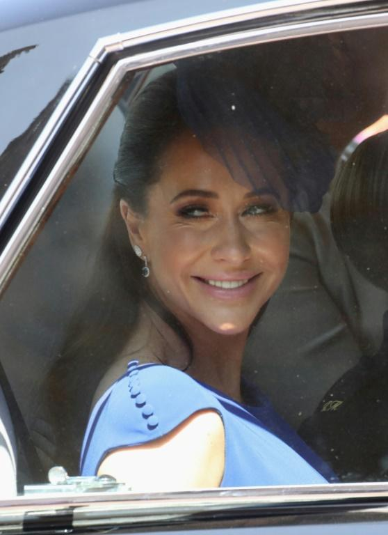 Jessica Mulroney (pictured May 2018) has been careful not to give the impression she benefits from her friendship with Meghan Markle (AFP Photo/Chris Jackson)