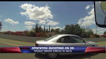 Woman Shot in Neck While Driving to Work