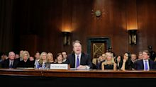 Angry and embittered, Kavanaugh casts nomination in partisan terms