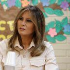 Melania Trump Tells Detained Migrant Children 'Good Luck' in Surprise Tour of U.S. Border Facilities