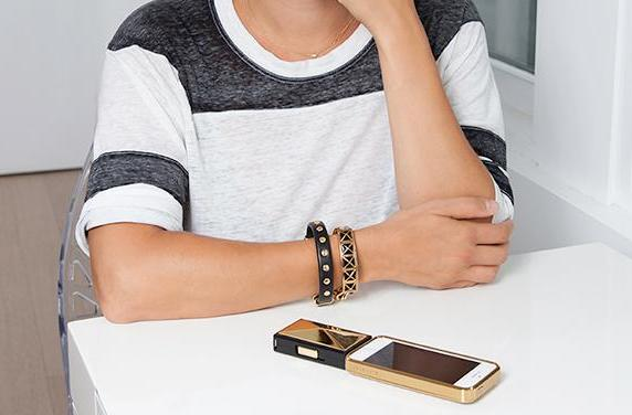 Rebecca Minkoff's smart bracelets place emphasis on style and luxury