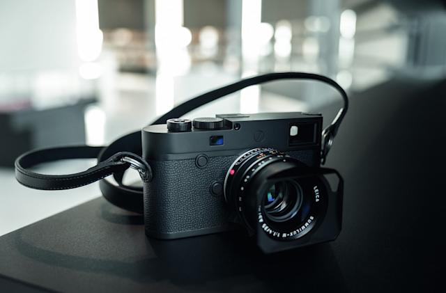 Leica's M10 Monochrom is devoted to black-and-white photography