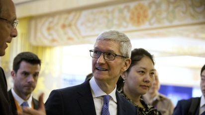Apple's Tim Cook calls for data regulations