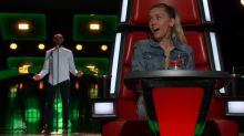 Uncomfortable moment that has 'never happened before' on 'The Voice' has a happy ending