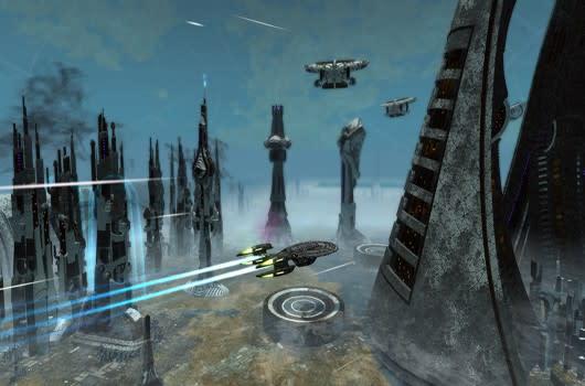 Captain's Log: Solonae space zone in Star Trek Online