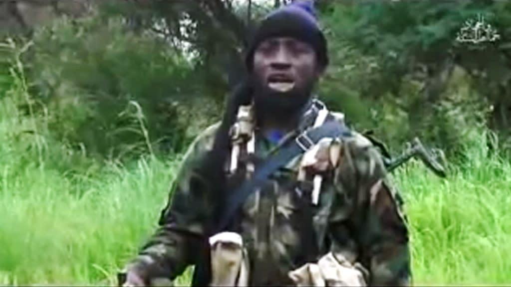 Nigerian Islamist extremist group Boko Haram's shadowy leader Abubakar Shekau (AFP Photo/HO, HO, HO)