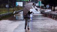 VÍDEO: Las inundaciones en Campanillas, una barriada de Málaga, causan numerosos destrozos