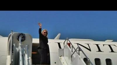 Clinton departs Georgia on Caucasus tour