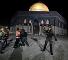 Israeli police, Palestinians clash at Jerusalem's Al-Aqsa, scores injured