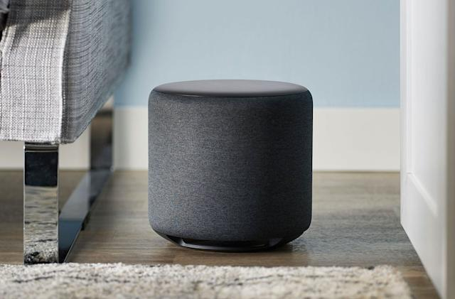 Amazon's Echo Sub adds some much-needed bass to its smart speakers