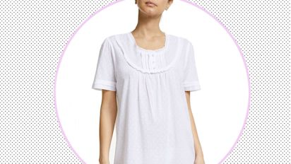 "The cotton nightie you need for a comfortable sleep: ""Three cheers for a soft, lightweight, pure cotton nightdress"""