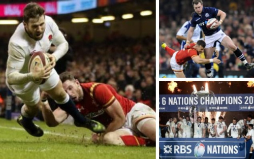 Elliot Daly and Stuart Hogg contributed stand-out moments in the Six Nations