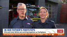 Australia's family of firefighters