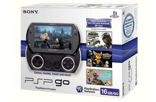 Sony announces $10 PSP games, PSP Go deal