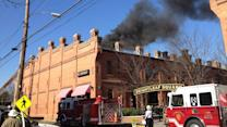 Fire burns Durham restaurant